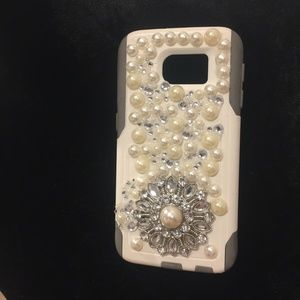 Otter box samsung galaxy S6 embelished phone case